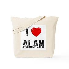 I * Alan Tote Bag