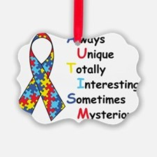 Autism Fact Ornament
