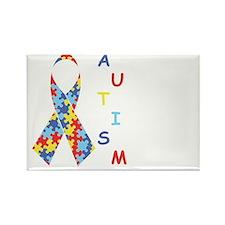 Autism Fact Rectangle Magnet
