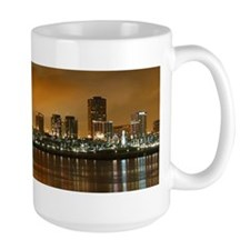 Long Beach Skyline Mug