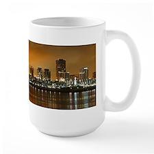 Long Beach Skyline Mug