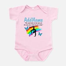 DAZZLING GYMNAST Infant Bodysuit