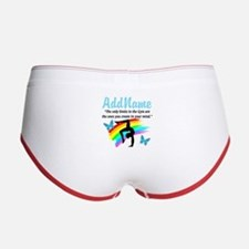 DAZZLING GYMNAST Women's Boy Brief