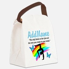 DAZZLING GYMNAST Canvas Lunch Bag
