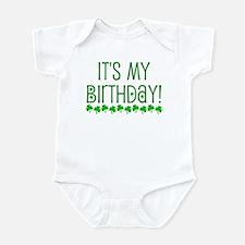 My Birthday Infant Bodysuit