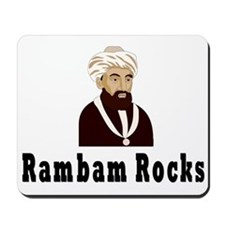 Rambam Rocks Mousepad