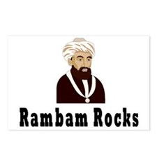 Rambam Rocks Postcards (Package of 8)