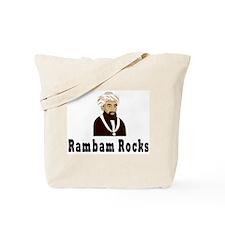 Rambam Rocks Tote Bag