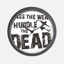 hurdle the dead Wall Clock