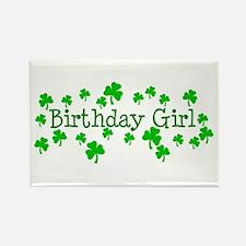 Birthday Girl Rectangle Magnet