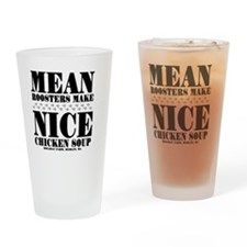 MEAN-ROOSTER Drinking Glass
