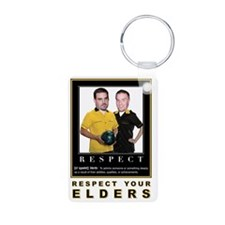 Respect your Elders Keychains
