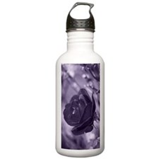Purple Rose Water Bottle
