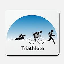 Men's Triathlete Mousepad