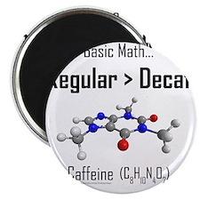 Regular vs Decaf shirt Magnet