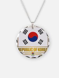 South Korea (Flag 10) Necklace