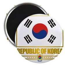 South Korea (Flag 10) Magnet