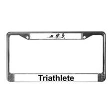Ladies' Triathlete License Plate Frame