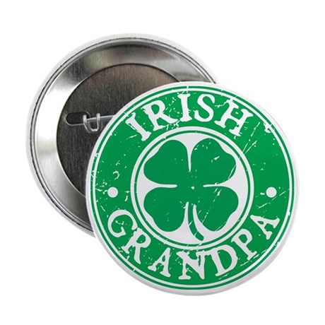 Irish Grandpa Button
