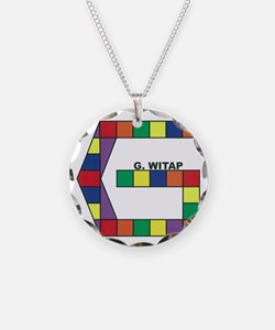 Gwitap Prismatic Good Logo Necklace