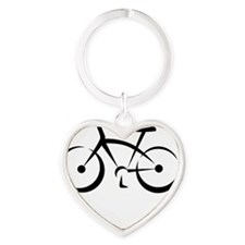 blackbike Heart Keychain
