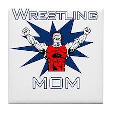 Wrestling Mom Tile Coaster