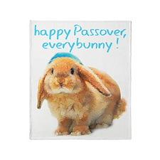 happy-Passover Throw Blanket