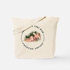 Frankies Tikki 2 clock Tote Bag