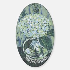 Hydrangea Sticker (Oval)