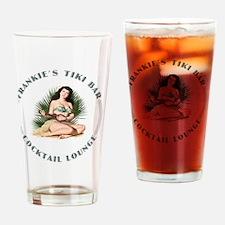 Frankies Tikki 3 clock Drinking Glass