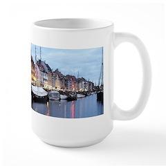 Old World Canal Large Mug