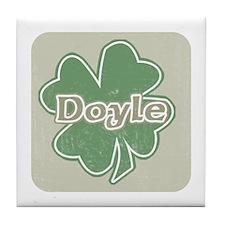 """""""Shamrock - Doyle"""" Tile Coaster"""