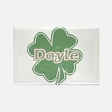 """""""Shamrock - Doyle"""" Rectangle Magnet"""