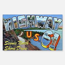 Hiway61_Print Sticker (Rectangle)