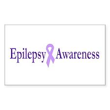Epilepsy Awareness Rectangle Decal