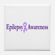 Epilepsy Awareness Tile Coaster