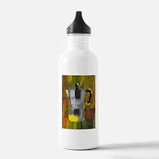 coffee3-greeting Water Bottle