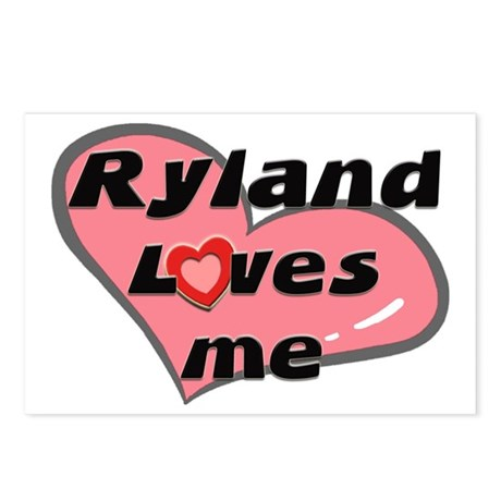 ryland loves me Postcards (Package of 8)