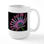 Pink Daisies Large Mug