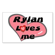 rylan loves me Rectangle Decal