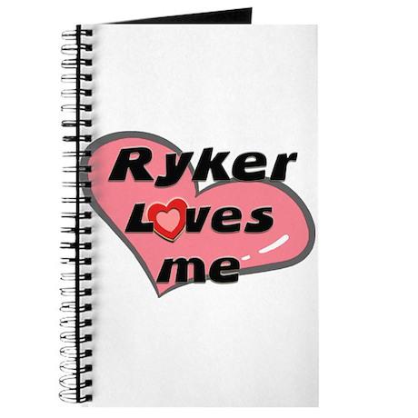 ryker loves me Journal