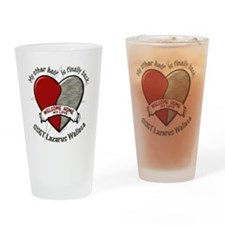 myotherhalfblankkeisha Drinking Glass