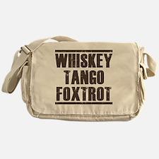 whiskey Messenger Bag