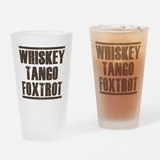 whiskey Drinking Glass