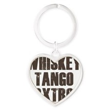 whiskey Heart Keychain