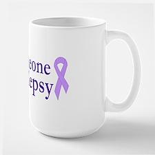 Love Someone with Epilepsy Large Mug