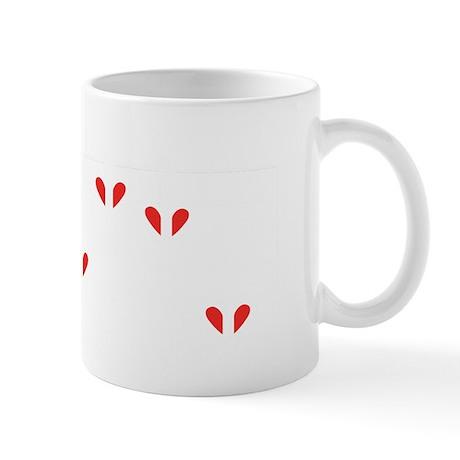 love partiture wh Mug