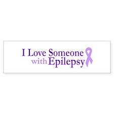 Love Someone with Epilepsy Bumper Bumper Sticker