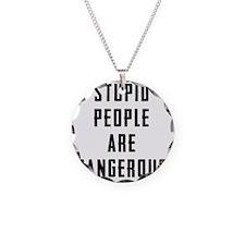 STUPID TEE Necklace