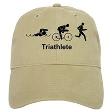 Men's Triathlete Baseball Cap
